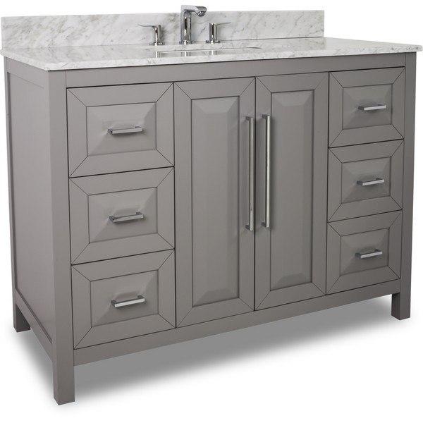 Contemporary 48 Bathroom Vanity