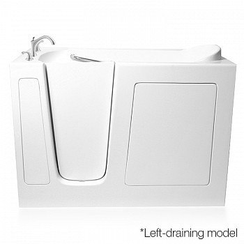Ariel EZWT-3060-Soaker Series 60 L x 30 W x 37 H Inch Walk-In Bathtub