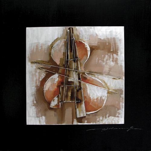 Yosemite Abstract Violin 2 Canvas 31X31 (FC2460S-2)