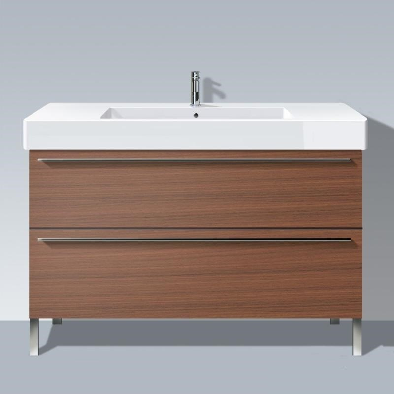 Duravit XL6545 X-Large 47-1/4 x 18-1/2 Vanity Unit Wall-Mounted with Two Pull-Out Compartments for Vero 032912 Washbasin