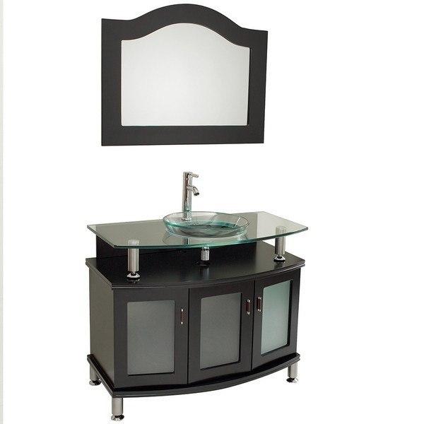fresca fvn3316es contento 40 inch espresso modern bathroom