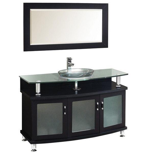 Fresca FVN3318ES Contento 48 Inch Espresso Modern Bathroom