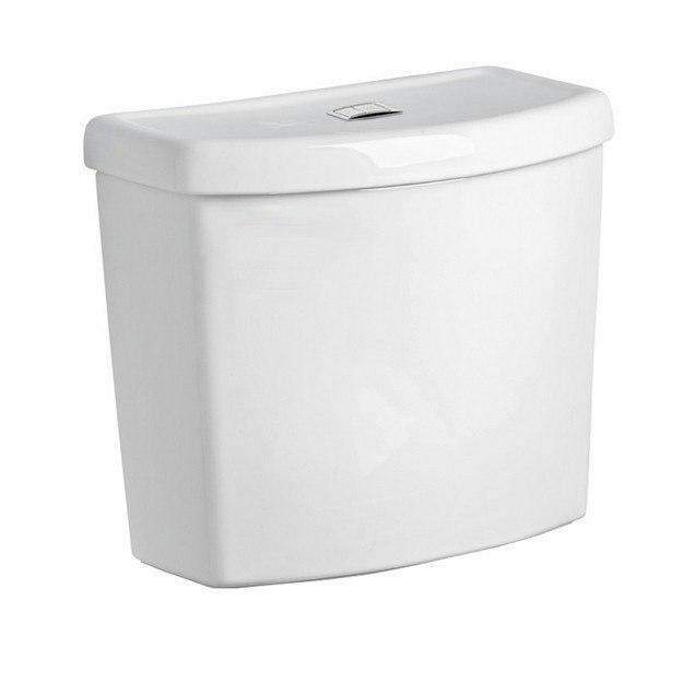 American Standard 4000.204.020 Studio White 1.1/1.6 GPF Dual Flush Toilet Tank with Performance Flushing System