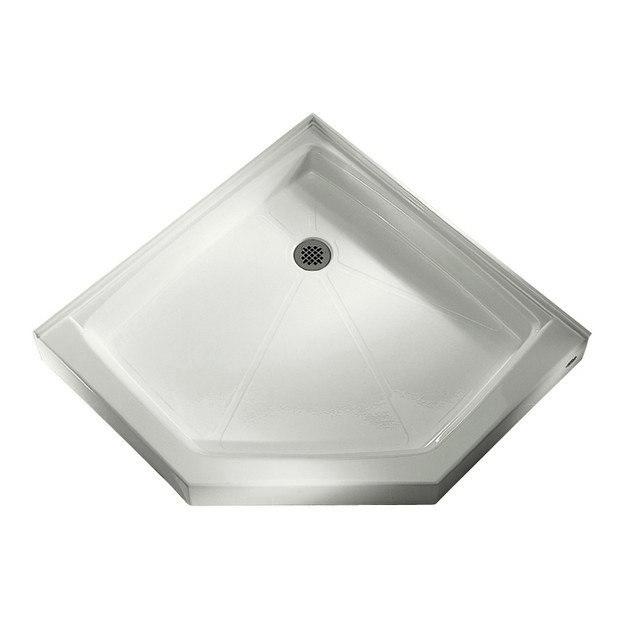 American Standard 4242 NEO 42 1 4 X 42 1 8 Inch Neo Angle Corner Shower Base