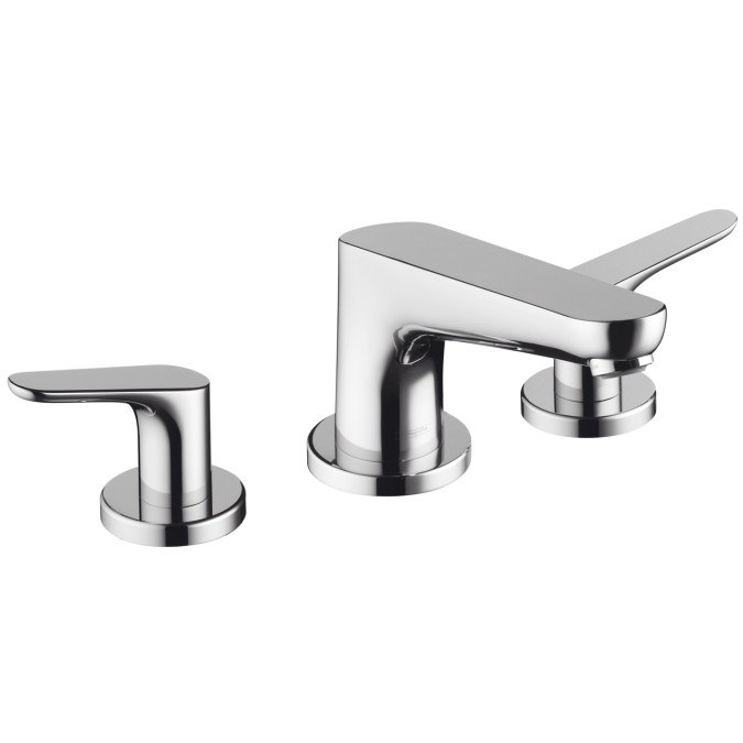 hansgrohe 04365 focus e 3 hole roman tub set 04365000. Black Bedroom Furniture Sets. Home Design Ideas