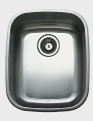 Ukinox D376.8C Undermount Single Bowl Stainless Steel Kitchen Sink With Cutting Board