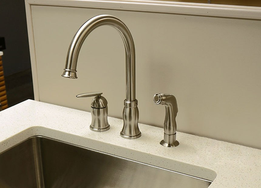 Dowell Usa 8002 012 Single Handle Kitchen Faucet 8002 012