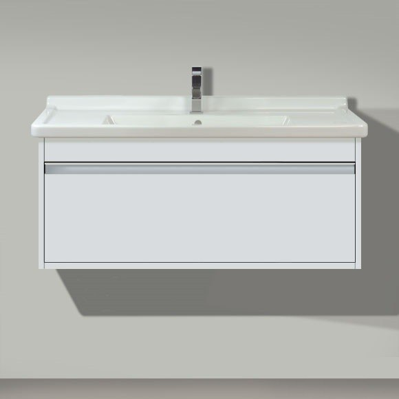 Duravit Kt6666 Ketho 47 1 4 X 18 1 4 Inch Double Sink Vanity Unit Wall Mounted For Starck 3