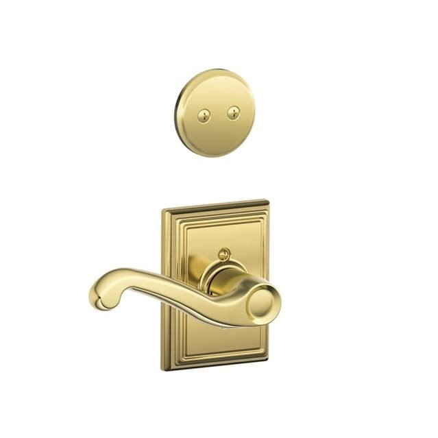 Schlage Residential F94flaaddlh F Series Flair With