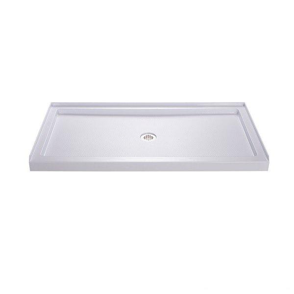 DreamLine DLT-113260 SlimLine 32 x 60 Inch Single Threshold Shower Base