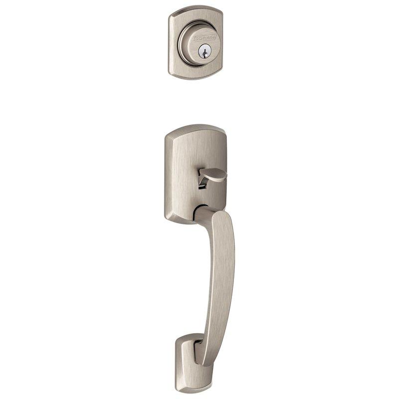 Schlage Residential F92grw F Series Greenwich Door Lock