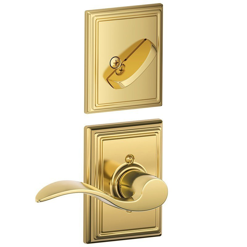 Schlage Residential F94accaddrh F Series Accent With
