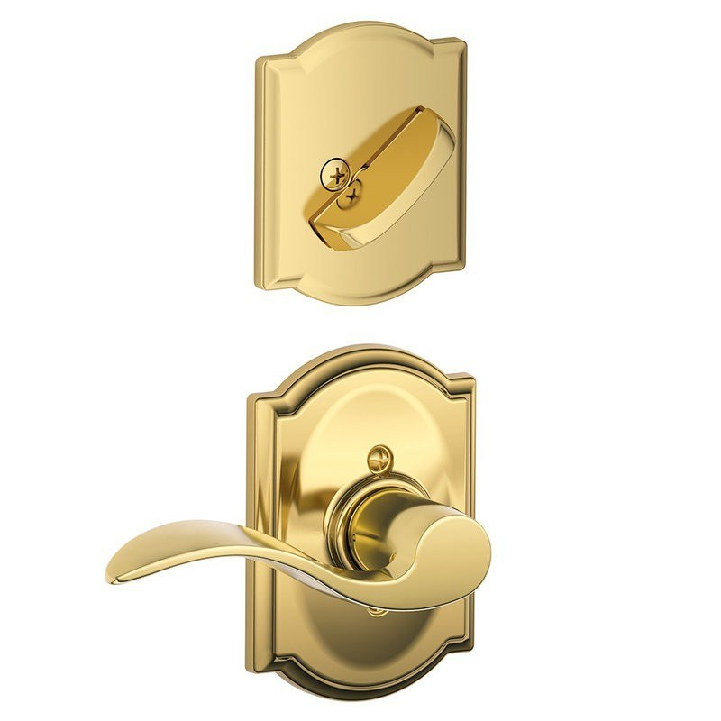 Schlage Interior Door Hardware Schlage Residential F94acccamrh F Series Accent With Camelot