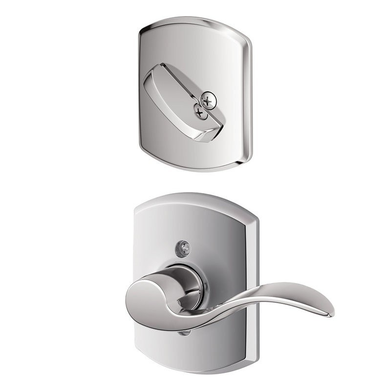 Schlage Residential F94accgrwlh F Series Accent With