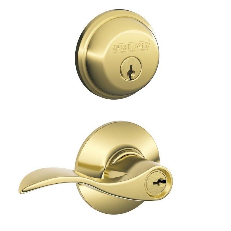Schlage Residential Fb50acc Fb Series Accent Combo Door