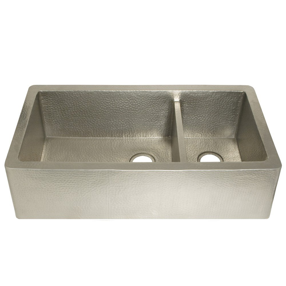 Native trails cpk74 farmhouse 40 inch duet pro double bowl for 40 inch farmhouse sink