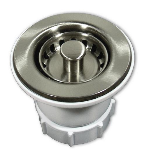 Native trails dr220 2 inch jr kitchen sink drain strainer for 2 kitchen sink drain