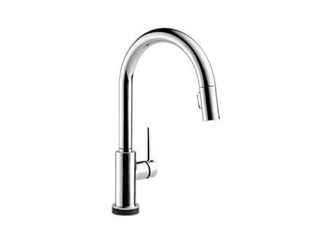 Delta 9159t Dst Trinsic Single Handle Pull Down Kitchen Faucet With Touch20 Technology Delta